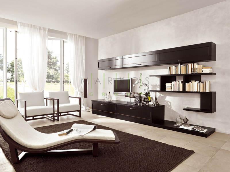 корпусная мебель для гостиной изготовленная на заказ фото