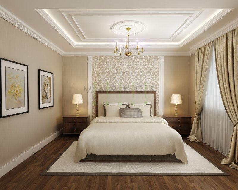мебель для белой спальни в классическом стиле