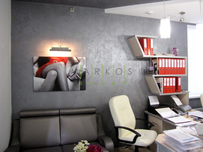дизайн мебели изготовленной на заказ для офиса в стиле модерн в Черкассах