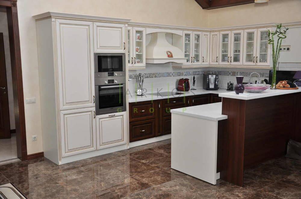 мебель для кухни изготовленная под заказ по уникальному дизайну