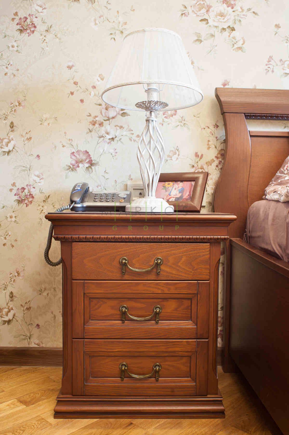Мебель на заказ для спальни в классическом стиле фото