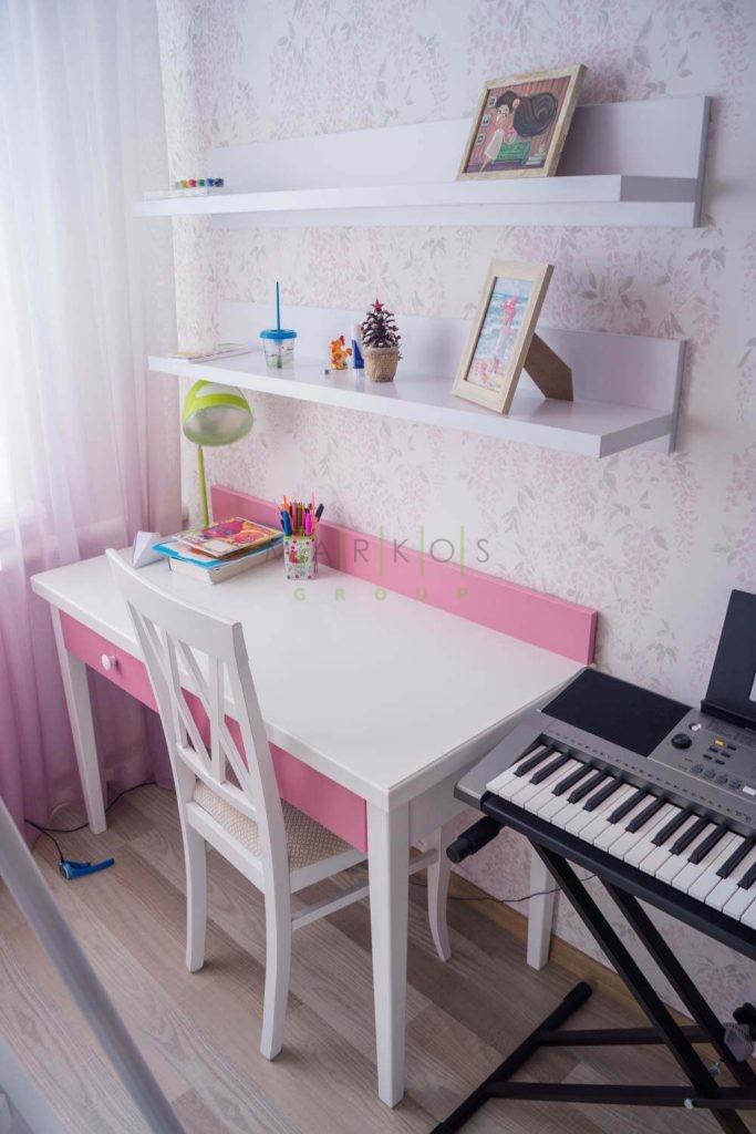 мебель в детскую для девочки на заказ