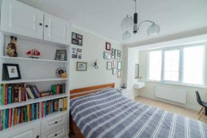 мебель на заказ для спальни в скандинавском стиле фото