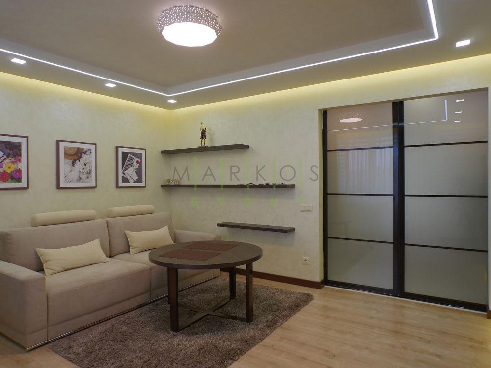 мебель для гостиной в квартире изготовленная на заказ