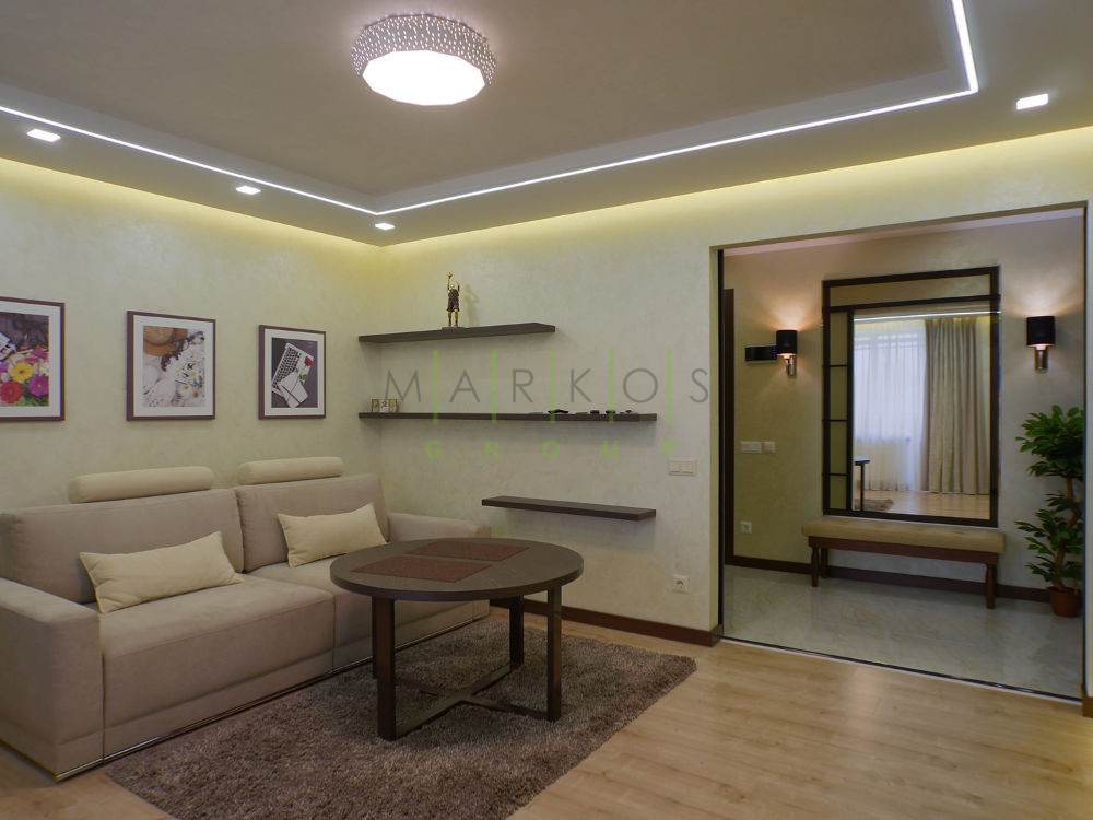 на фото мебель для гостиной изготовленная на заказ в Черкассах