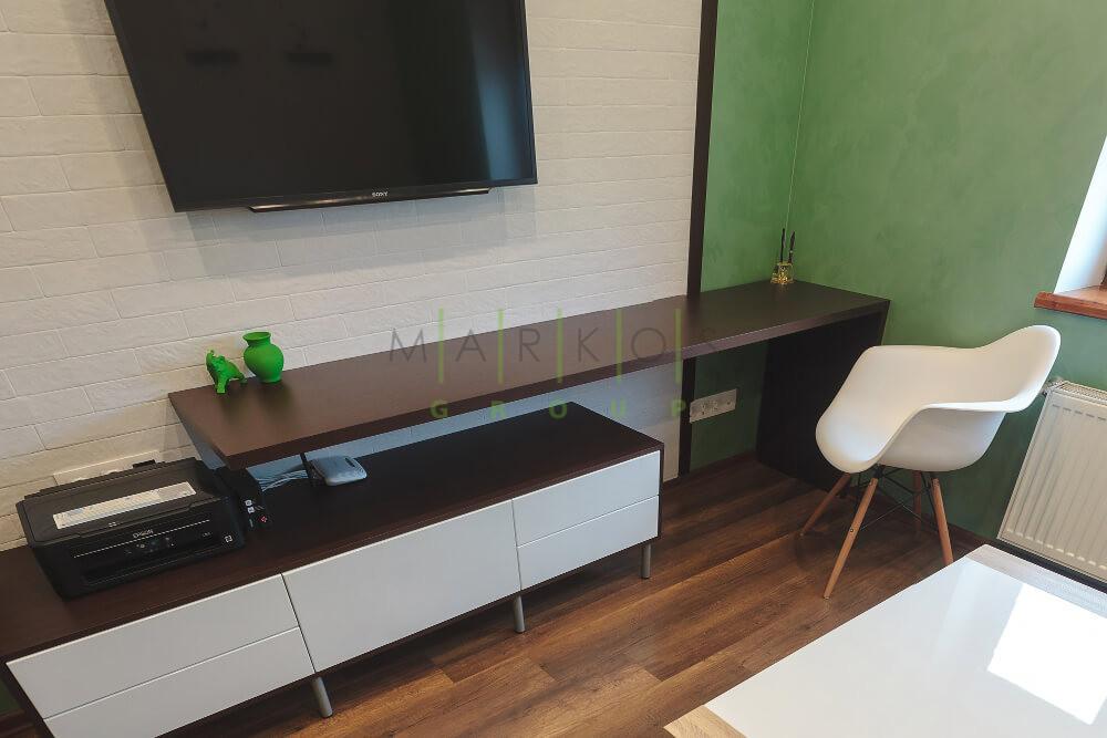 фото мебели для гостиной сделанной на заказ