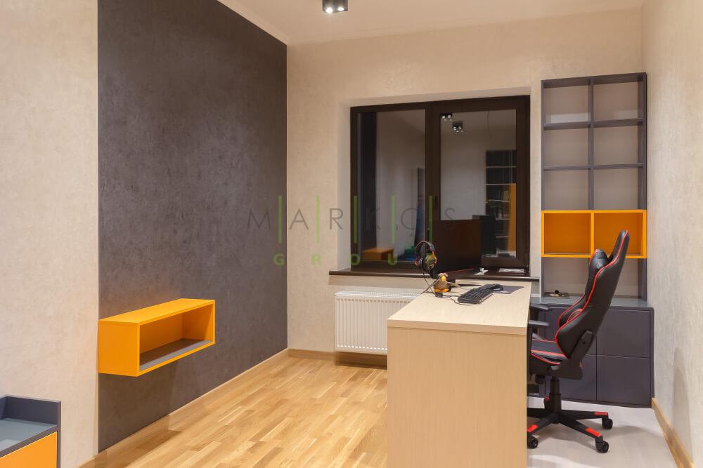 фото мебели сделанной на заказ для кабинета