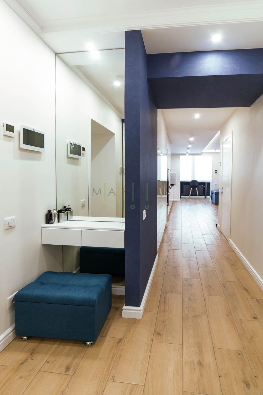 мебель для квартиры сделанная на заказ в скандинавском стиле от Маркос
