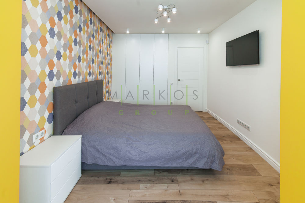 на фото мебель на заказ для спальни в квартире Черкассы