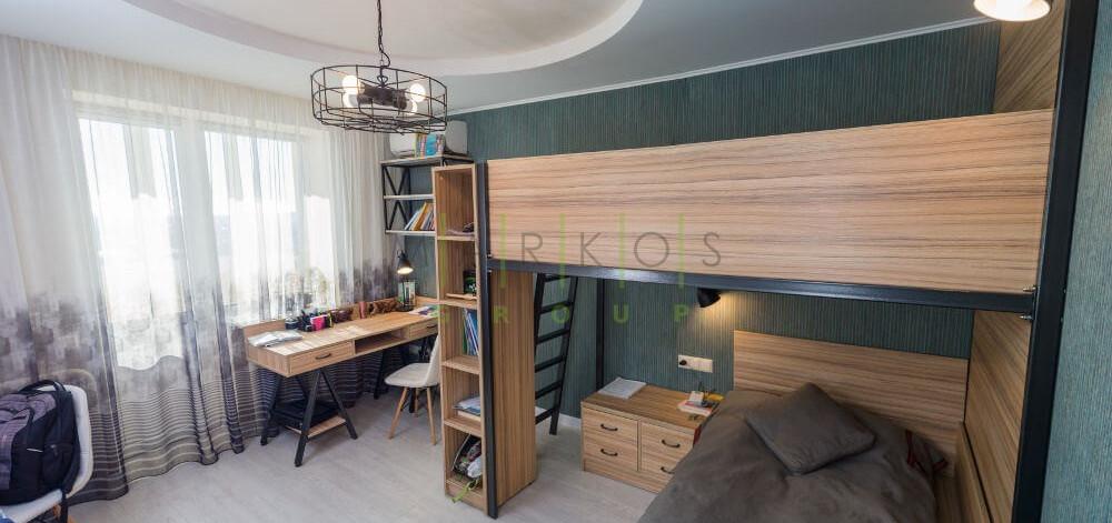 дизайн интерьера детской комнаты сделанный на заказ в Черкассах